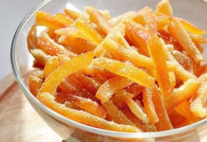 Как сделать необычное апельсиновое угощение
