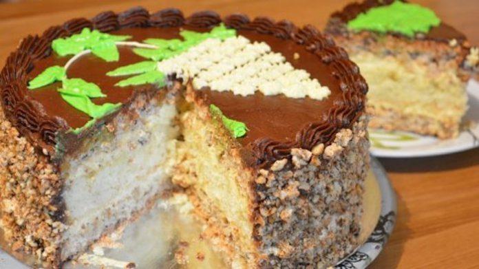 Киевский торт по старинному семейному рецепту